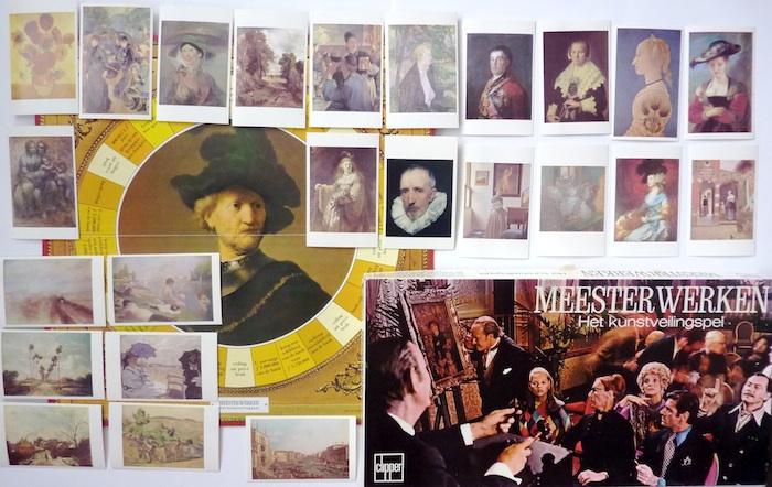 Meesterwerken; Het Kunstveilingspel