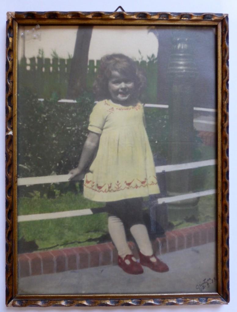 Portret van een meisje – meneer Grintjes