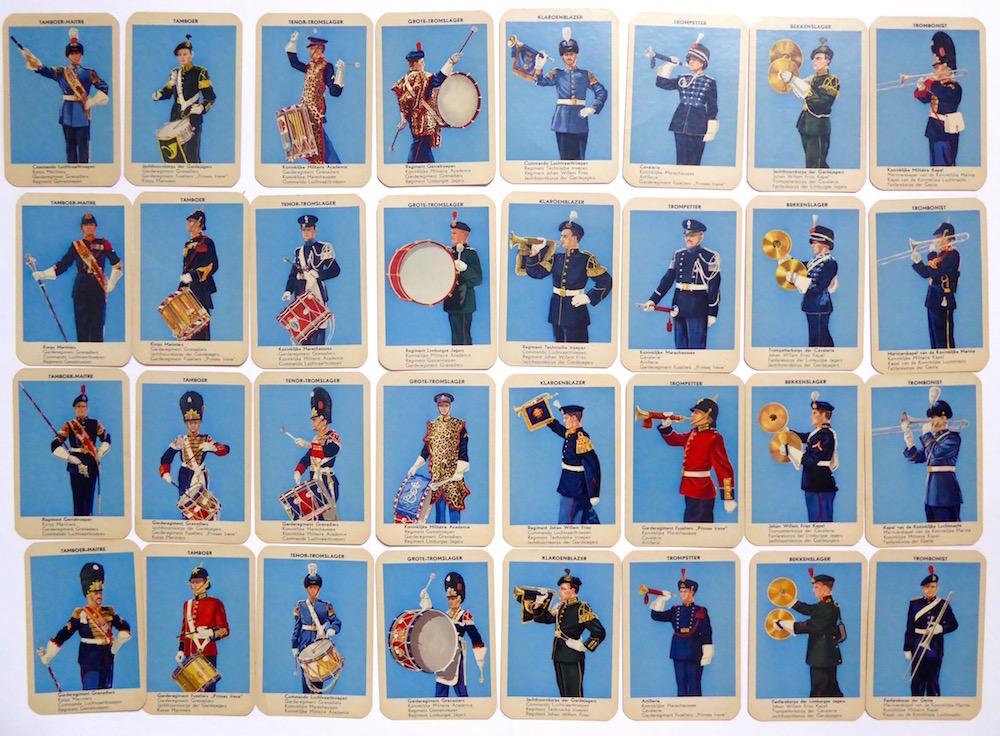 Militairen muzikanten