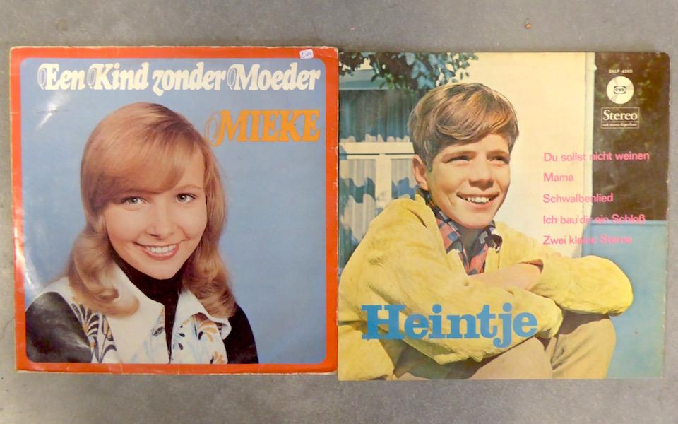 LP's van Mieke en Heintje
