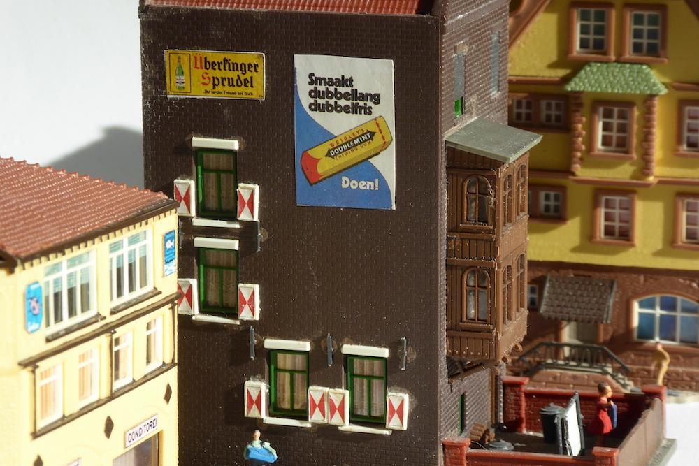 Modelspoor huizen