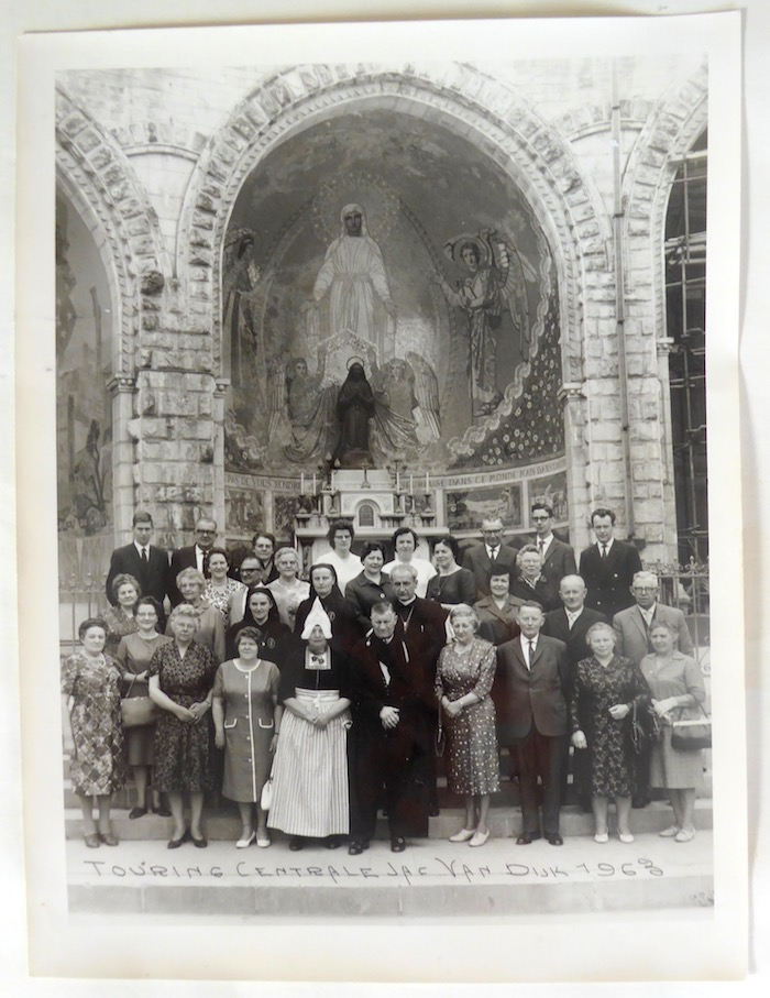 Groepsportret reis Lourdes